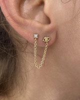 Romy earrings (pair)