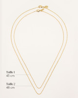 Short chain necklace (without medal)